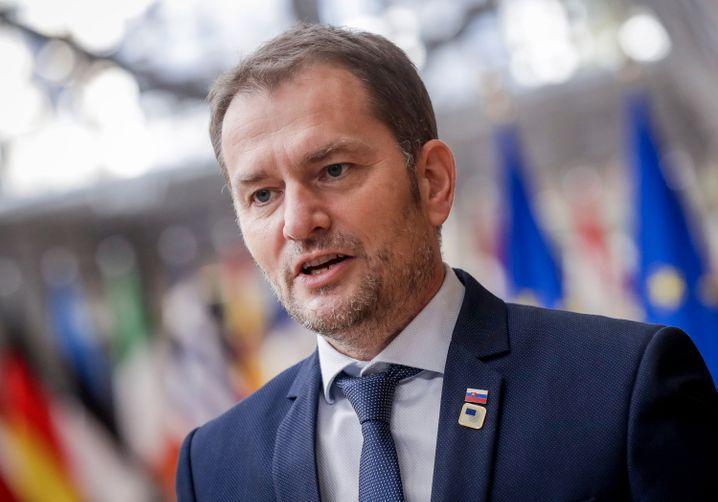Slowakischer Premier Matovic