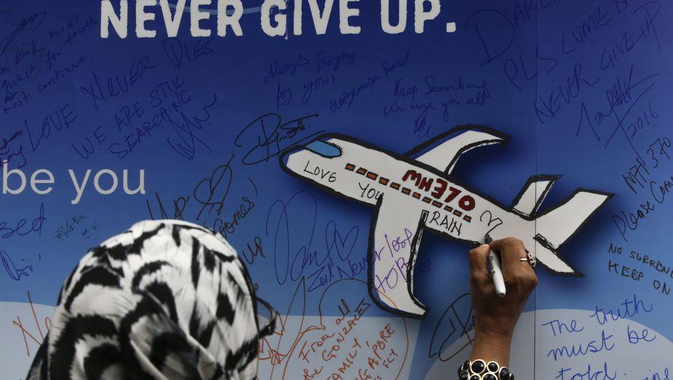 Gedenkveranstaltung zu Flug MH370 (Archiv)