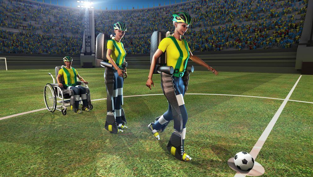 Exoskelett: Gehen mit Prothese