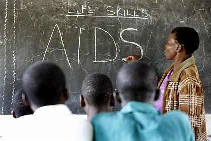 Money is one thing. Providing Africans reliable information about AIDS may be more difficult.