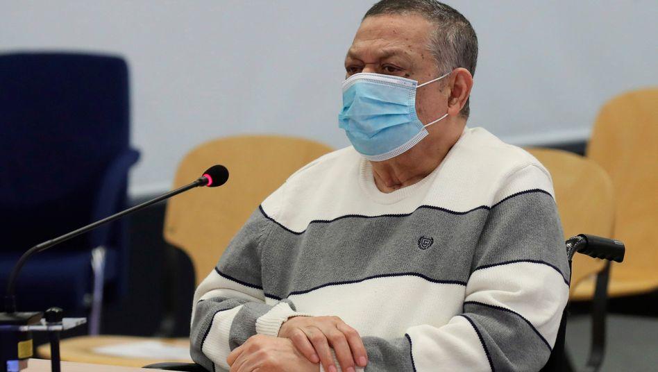 Inocente Orlando Montano Morales im Gerichtssaal (Archivfoto)