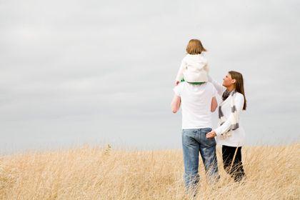 Familienidylle: Ein Drittel der Männer, die in Großbritannien nicht mir ihren Kindern zusammenleben, zahlen keinen Unterhalt