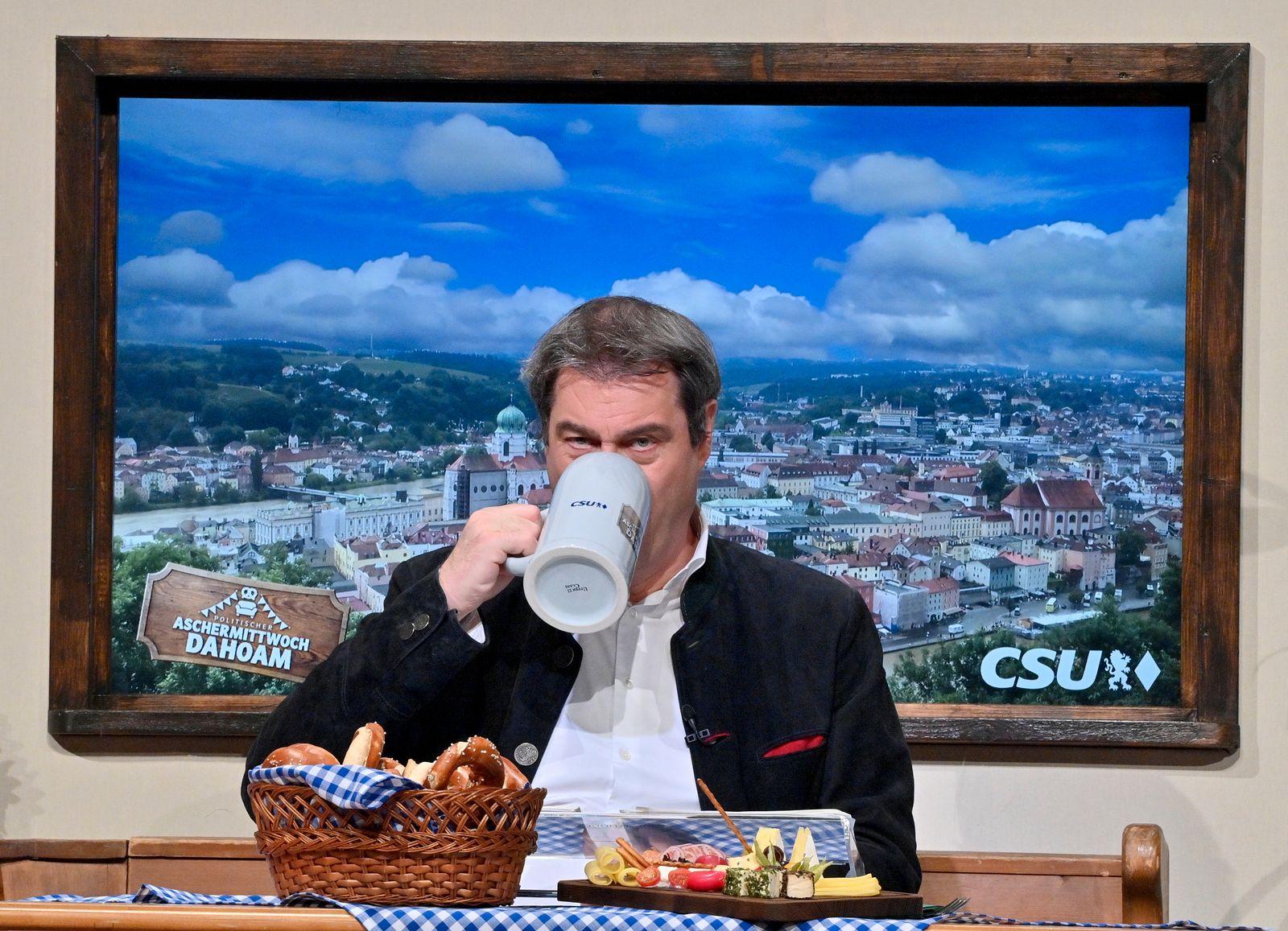 Politischer Aschermittwoch in Bayern - CSU