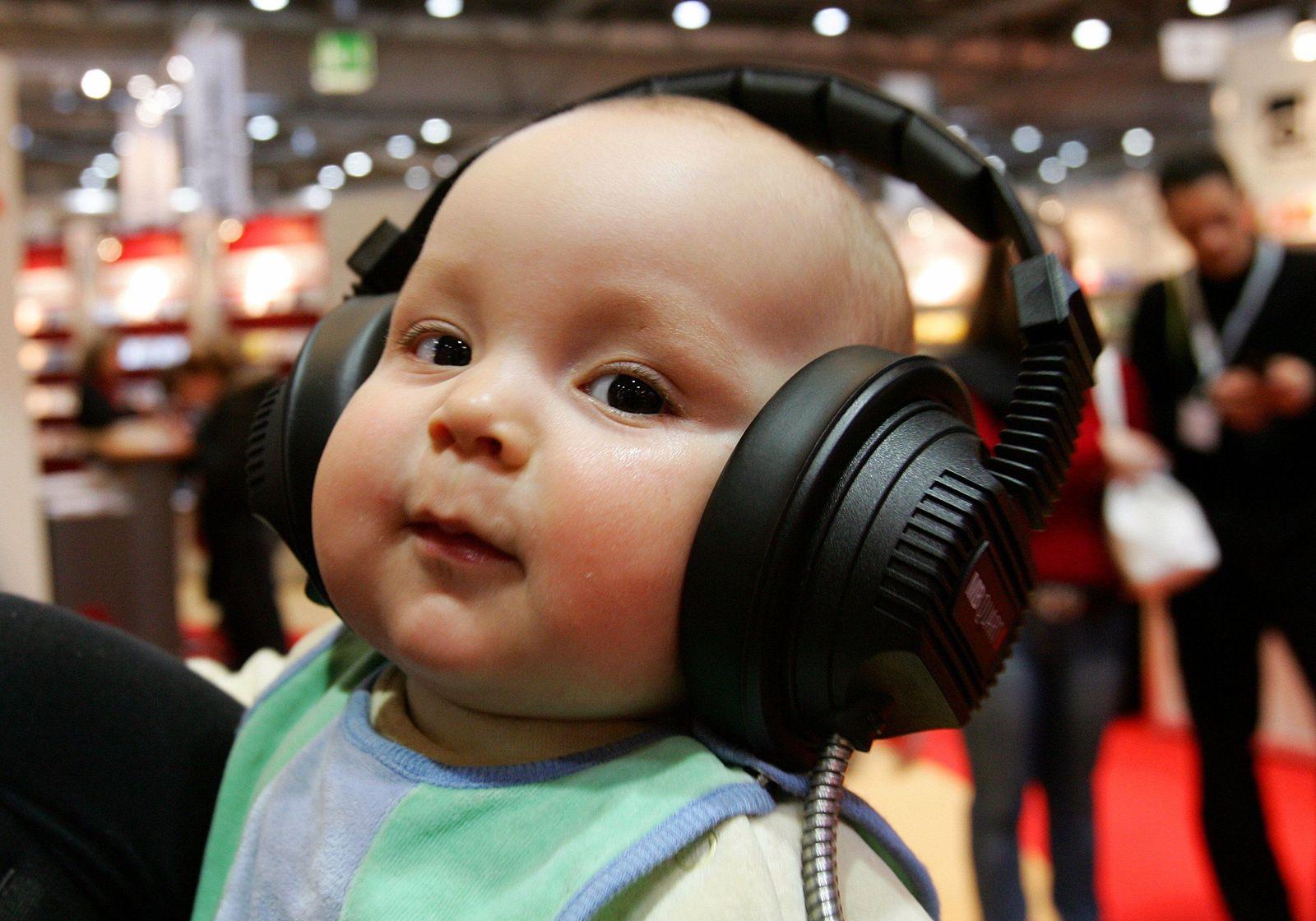 Kleinkind/Kopfhörer