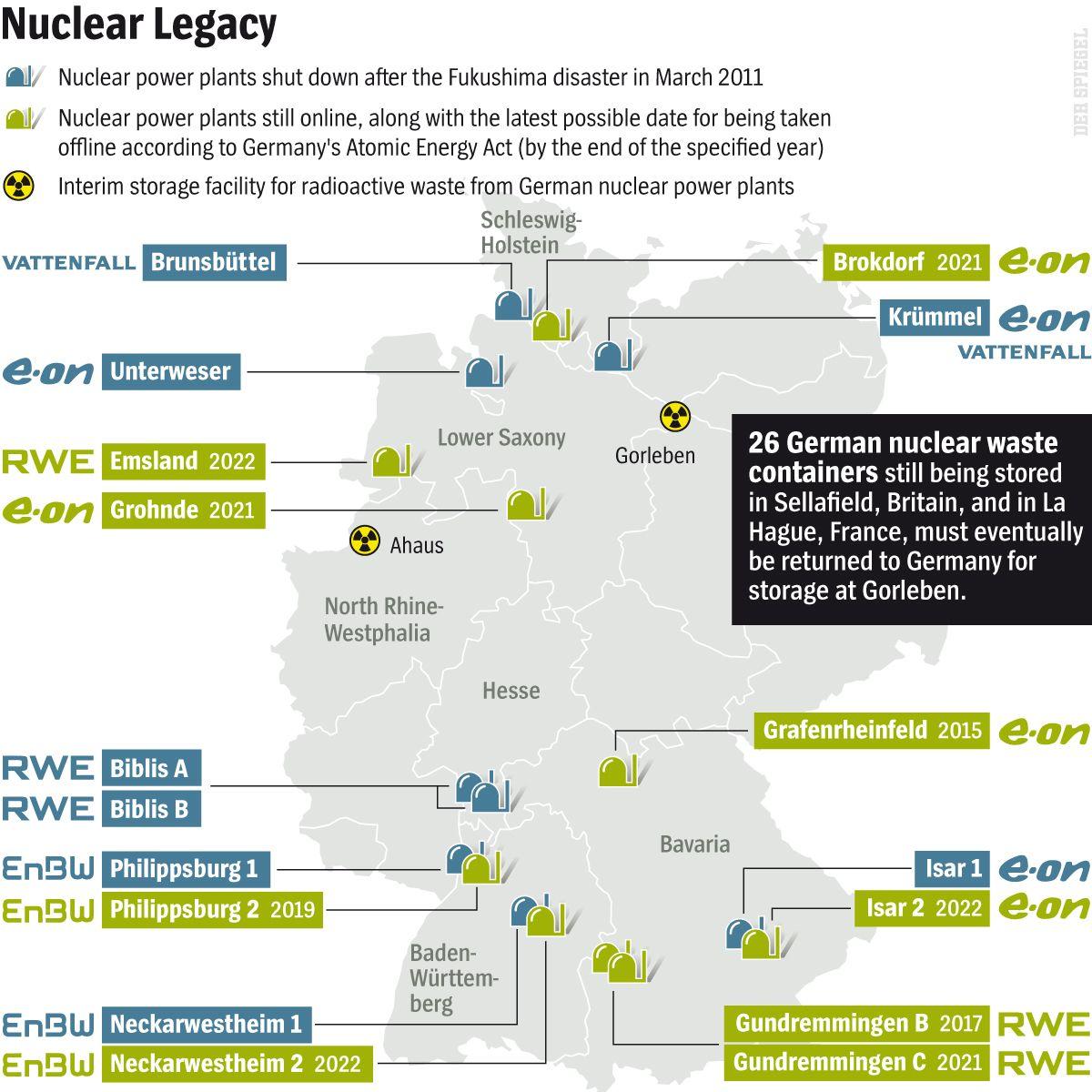 DER SPIEGEL 20-2014 Seite 22 - Nuclear Legacy