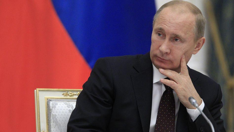 Russlands Prüsident Putin: Njet zu Zypern-Hilfen