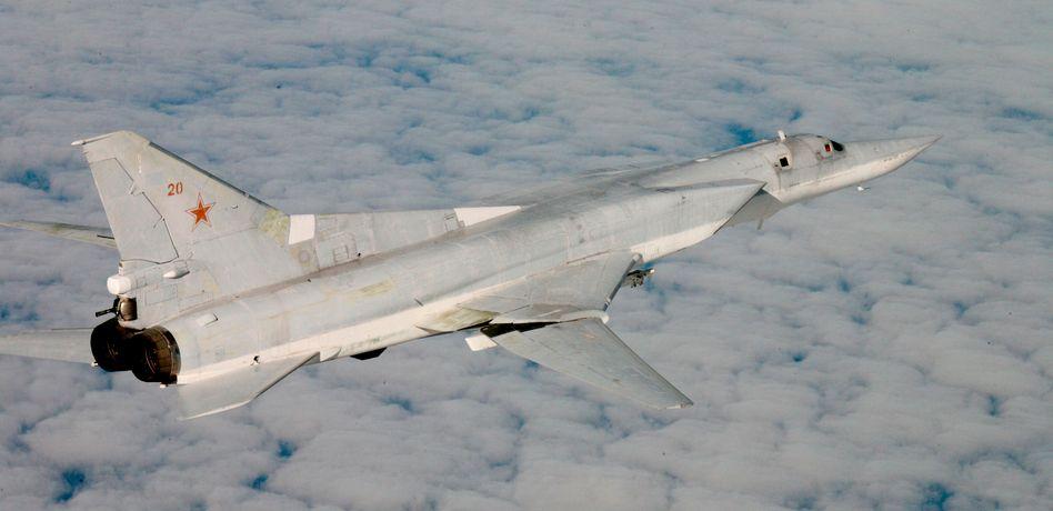 TU-22M-Flieger (Archivbild): Scheinangriffe an der Nato-Grenze