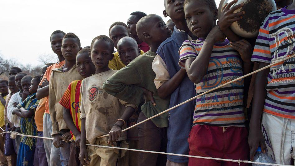 Flüchtlinge aus dem Südsudan in Uganda