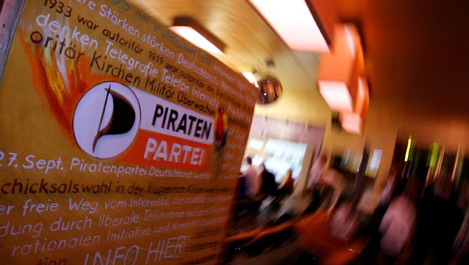 Piratenpartei: Vorwürfe im Vorstand