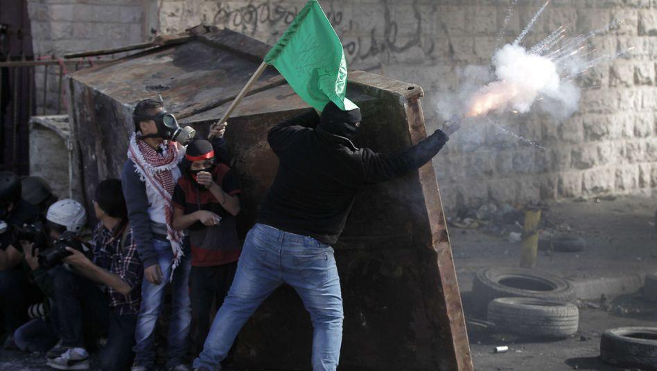 Protest von Palästinensern: Heftige Unruhen erschüttern Jerusalem