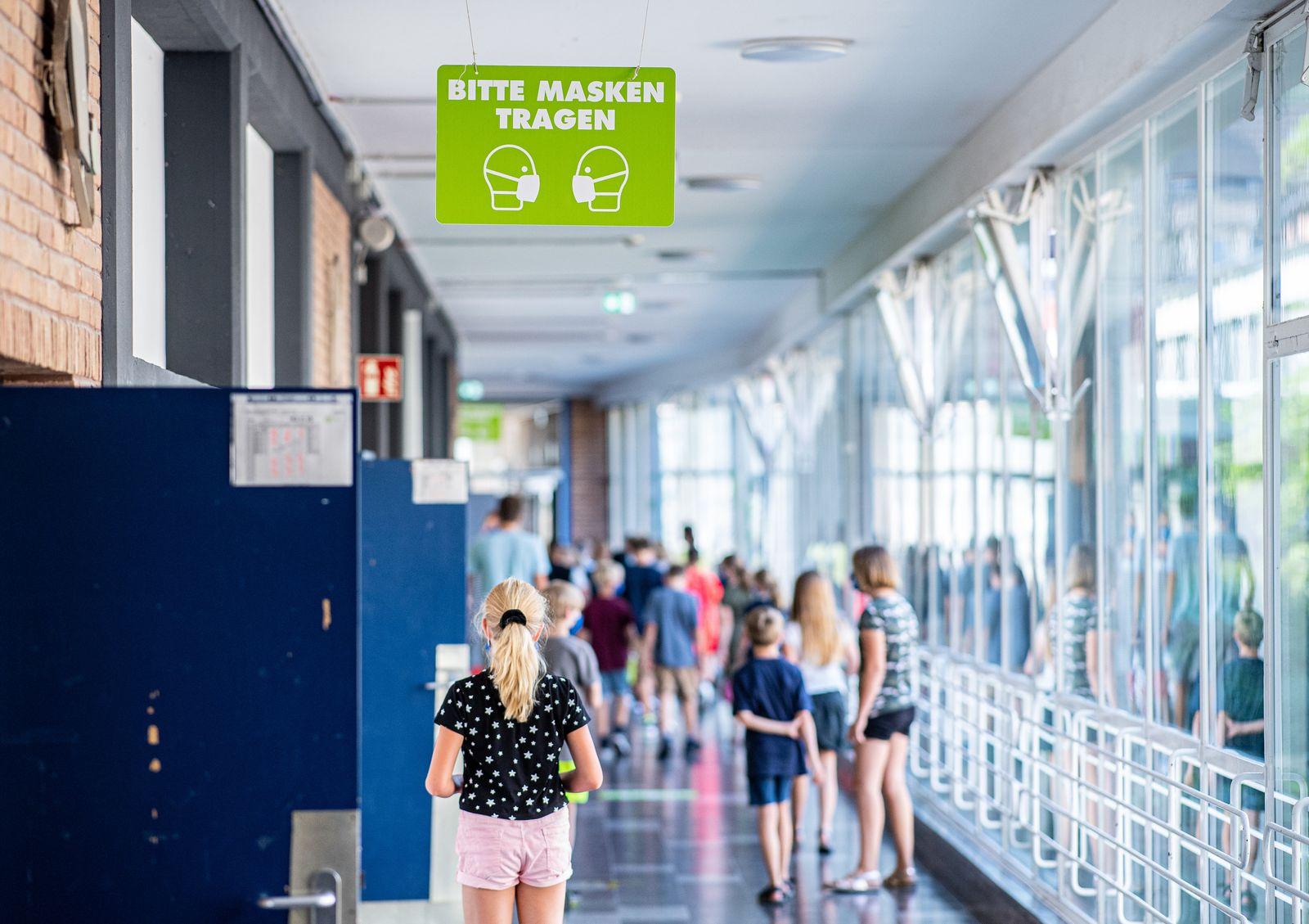 Nordrhein-Westfalen startet mit Masken im Unterricht