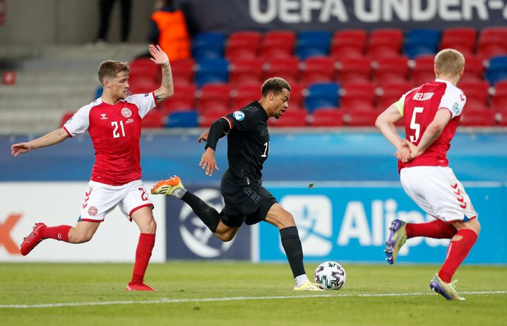 Lukas Nmecha: Previously played for England's offspring