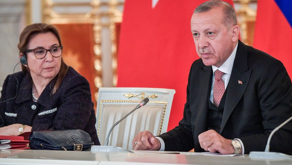 Handelsministerin Pekcan, Präsident Erdoğan (im Juli 2019): Das günstigste Angebot?