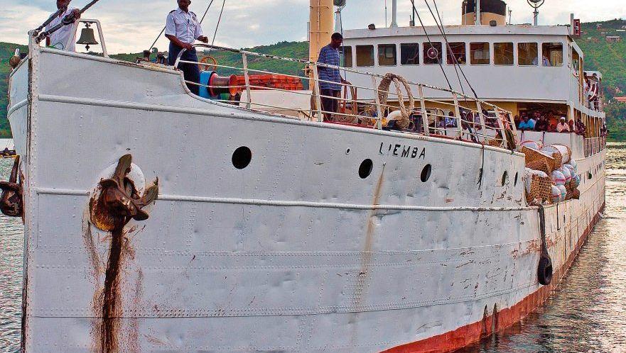 »Liemba« auf dem Tanganjika-See
