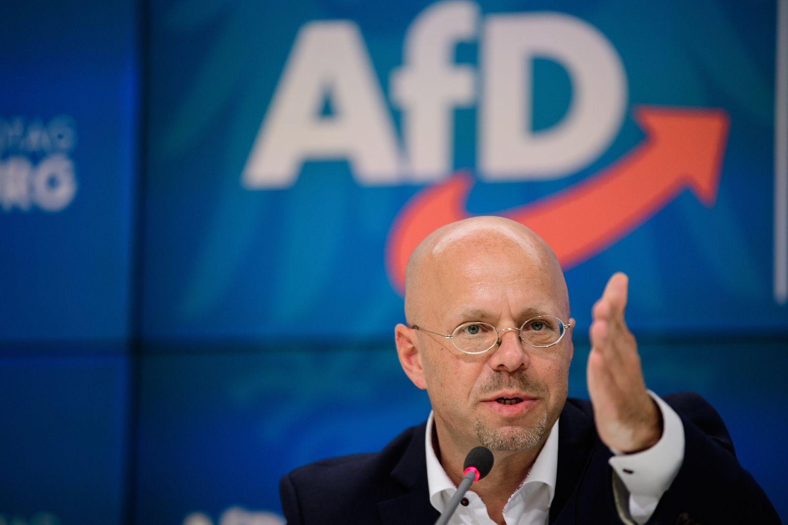 Sitzung der AfD-Fraktion im Landtag Brandenburg