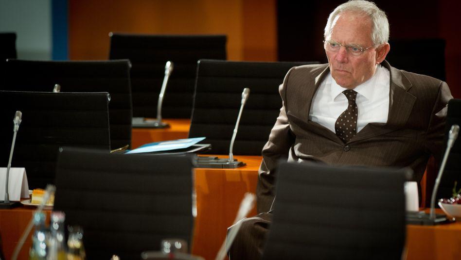 """Bundesfinanzminister Schäuble: """"Mehr Kompetenzen nach Brüssel verlagern"""""""