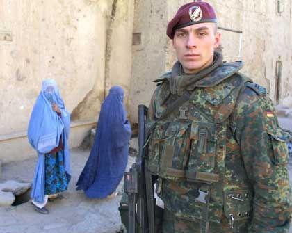 Nicht nur als Schutztruppe in Kabul aktiv: Bundeswehrsoldaten in Afghanistan
