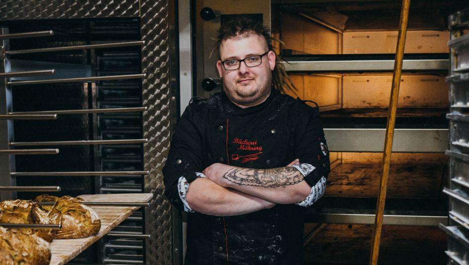 Marcus Ostendorf in der Familienbäckerei: 150 Jahre Tradition