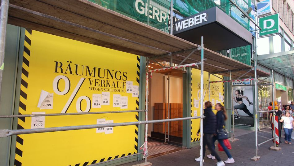 "A liquidation sale in Mannheim: ""The main thing is for decision-makers to come together and come up with a joint strategy."""
