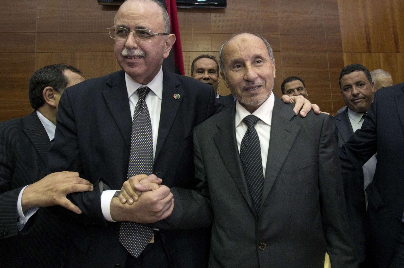 Libyen Abdel Rahim al-Kib