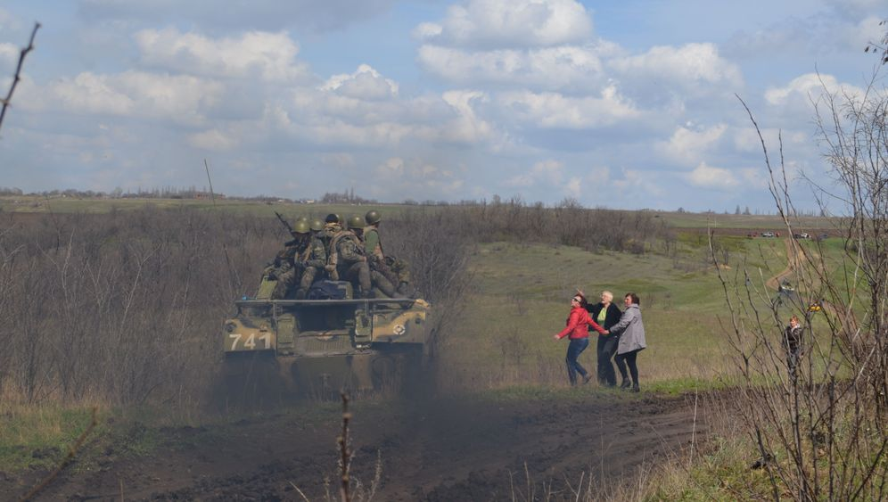 Kiews Armee in der Ostukraine: Wut der Zivilisten