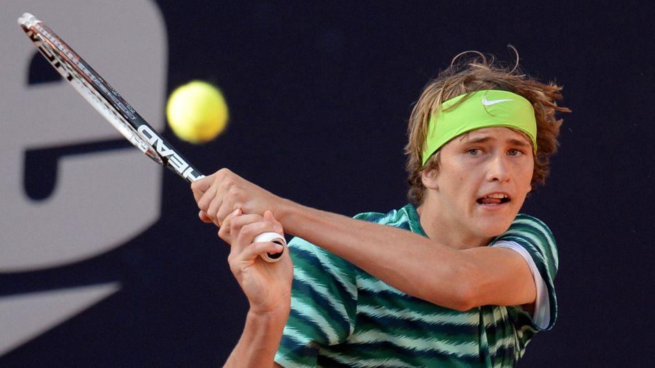 Tennistalent Zverev: Endstation Halbfinale