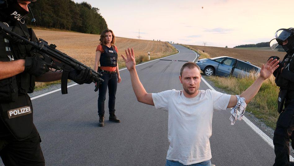 Max Riemelt als Vater: Auf der Flucht