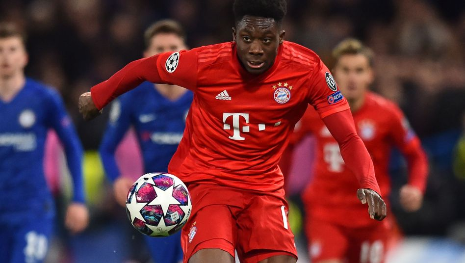 """Bayern-Außenverteidiger Davies: """"Schnell wie Sau"""""""