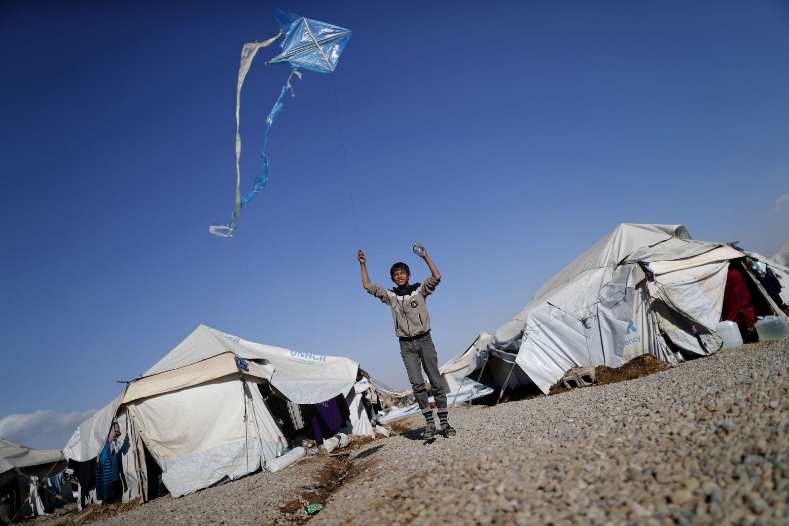 IRAQ-CONFLICT-MOSUL-DISPLACED