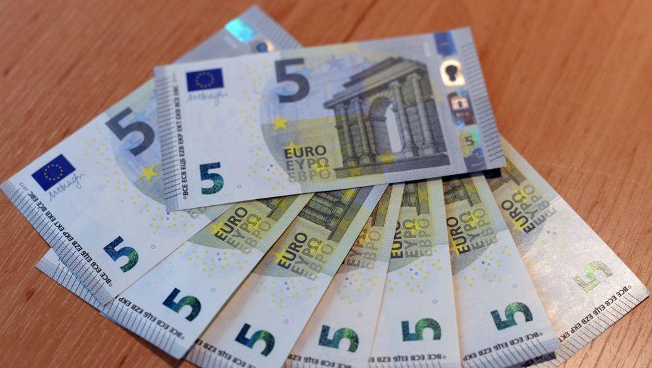 Fünf-Euro-Scheine