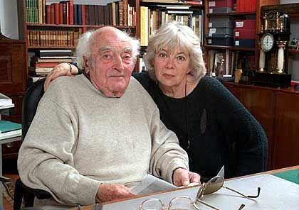 Das Schriftstellerehepaar Stefan und Inge Heym