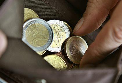 Euro-Münzen: Arbeitnehmer sind die Verlierer des vergangenen Aufschwungs