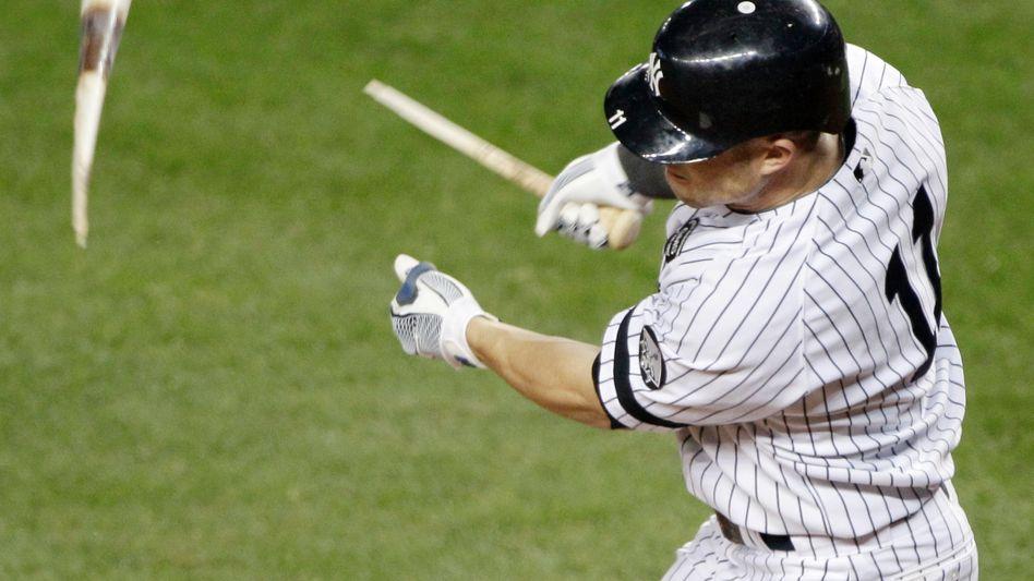 Yankees-Spieler Gardner nach missglücktem Schlag: Niederlage in Spiel vier