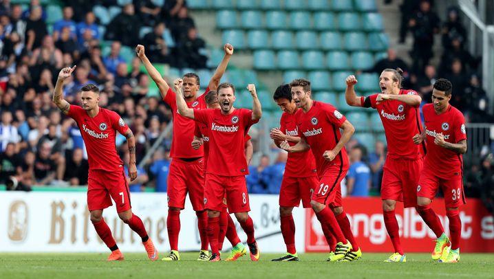 Eintracht Frankfurt: Der Weg ins Pokalfinale