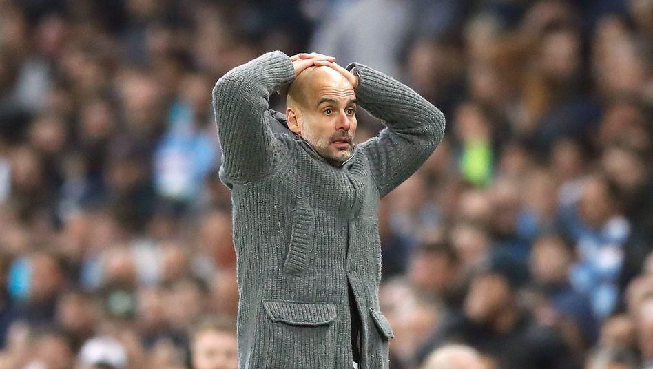 Pep Guardiola wartet seit 2011 auf den Gewinn der Champions League