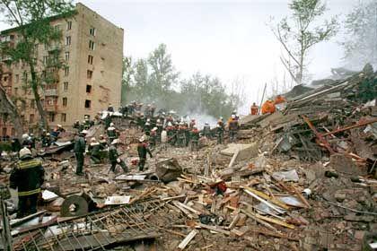 Moskau 1999: Anschläge auf Wohnhäuser