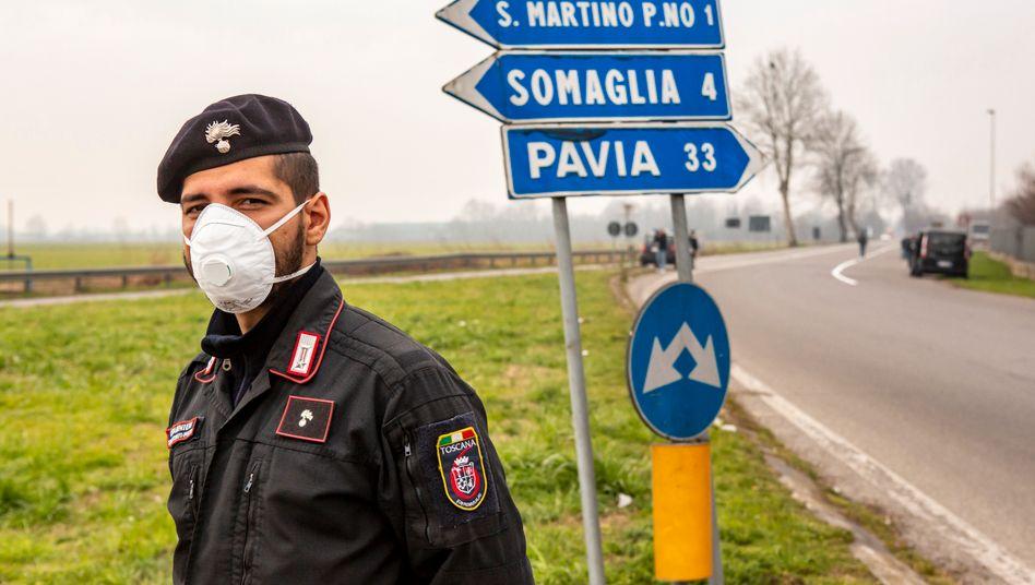 Italien zwischen Hysterie und Ignoranz: In der roten Zone