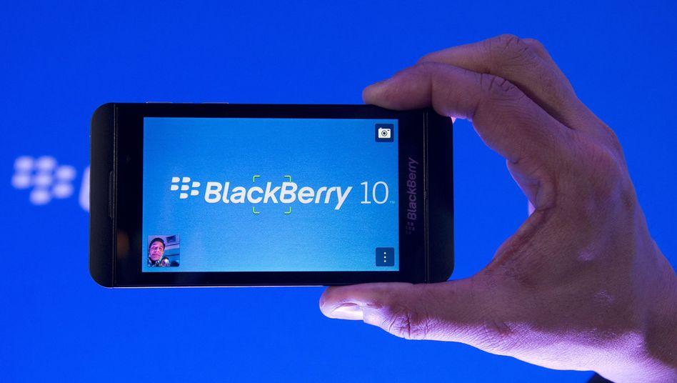 Blackberry Z10: Neue Handys des Herstellers verkaufen sich schlecht