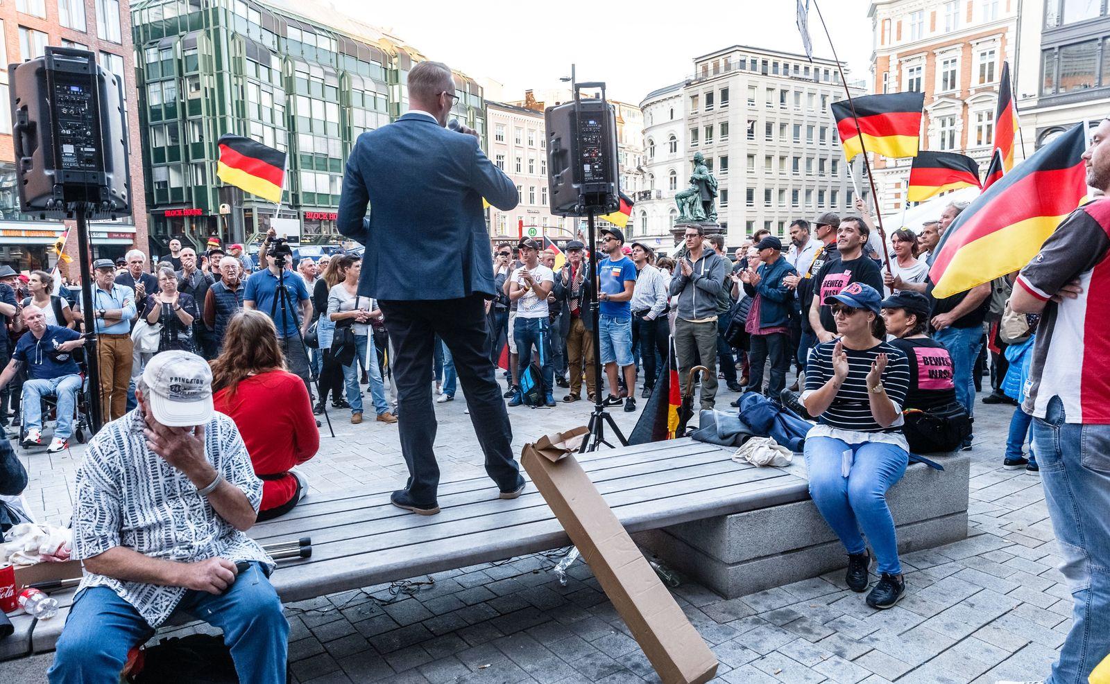 """""""Merkel muss weg!"""" Kundgebung"""
