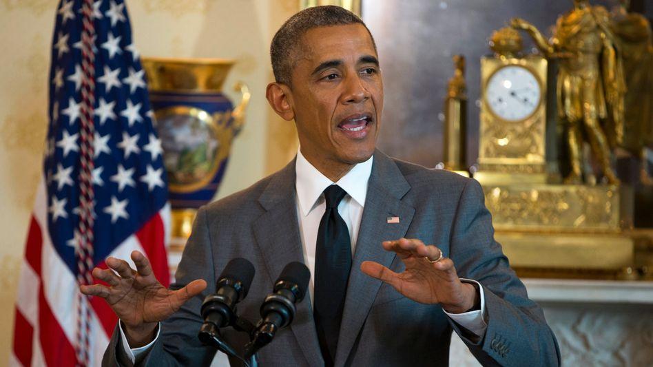 US-Präsident Obama: Hofft auf die nötigen Stimmen