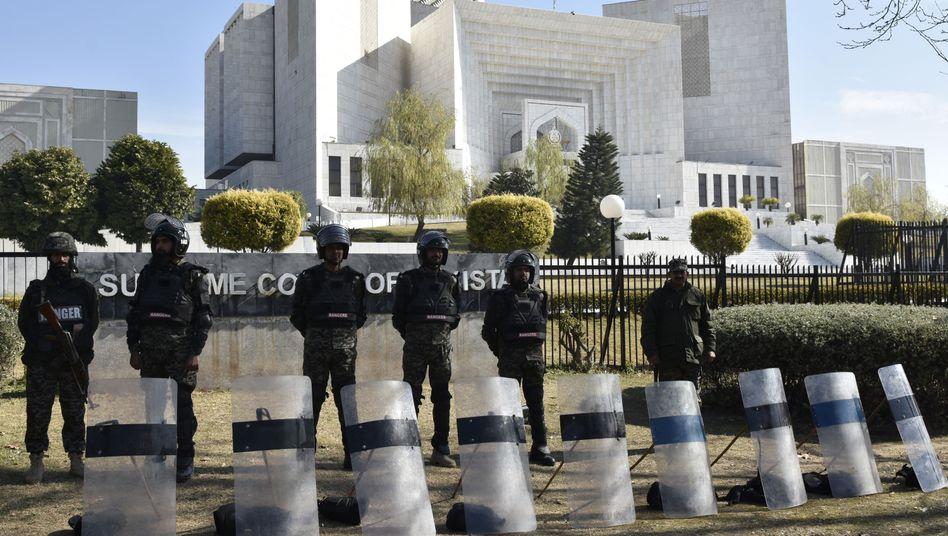 Oberster Gerichtshof in Pakistan
