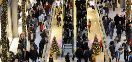 Hamburger Einkaufszentrum: Der Konsum bleibt stabil