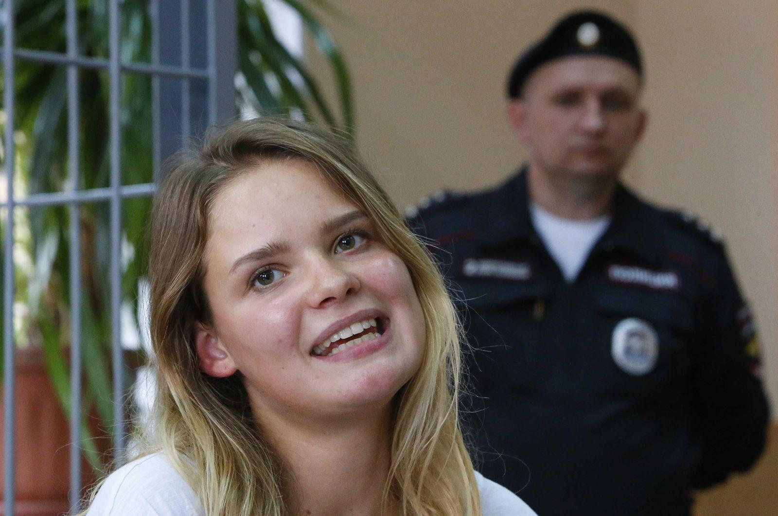 Pussy Riot Aktivistin, Veronika Nikulschina