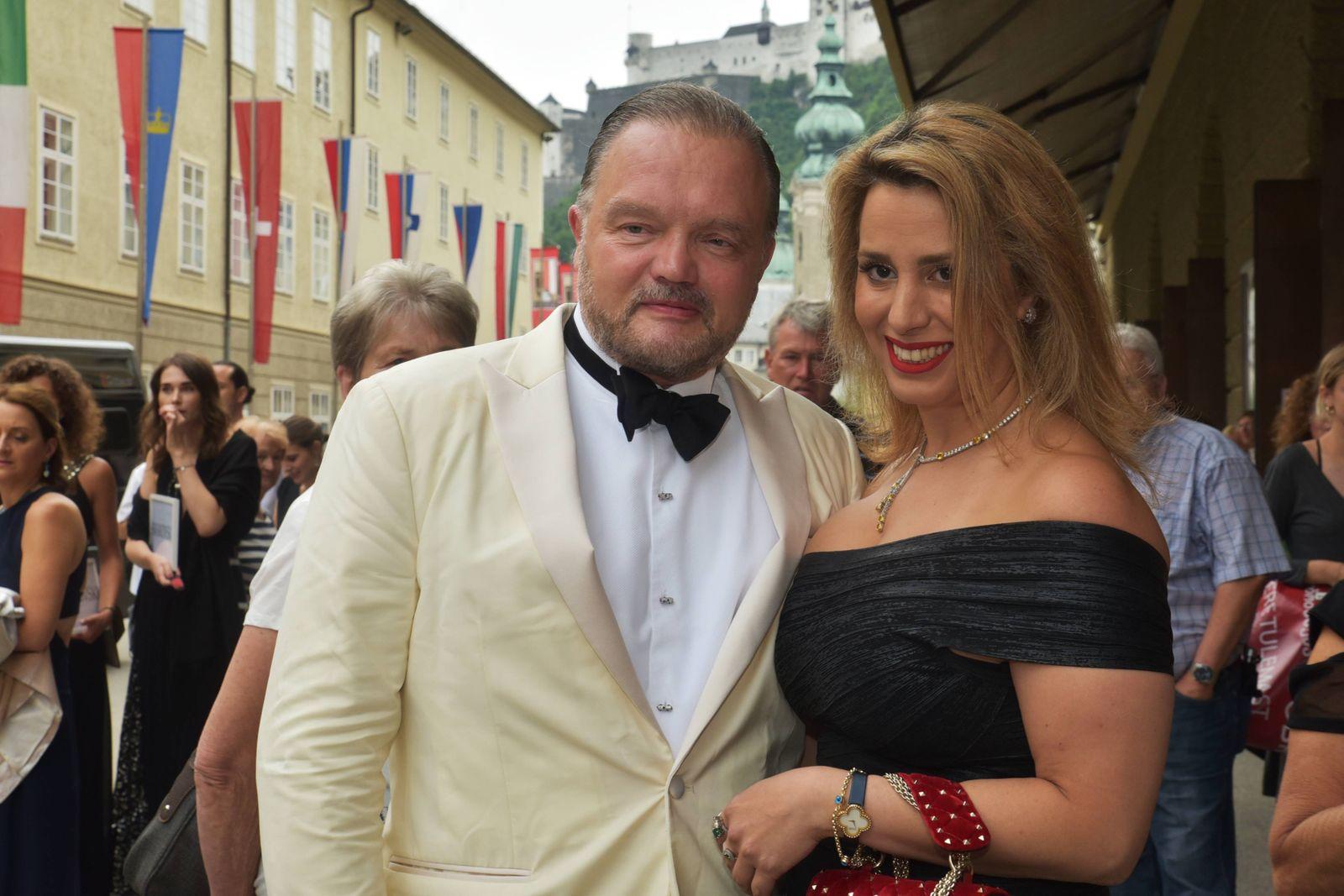 Entertainment Bilder des Tages Alexander Prinz zu Schaumburg Lippe Mahkameh Navabi Adriana Lecouvr