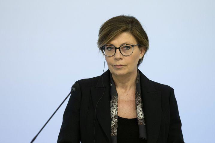 Deutsche Bank executive Sylvie Matherat