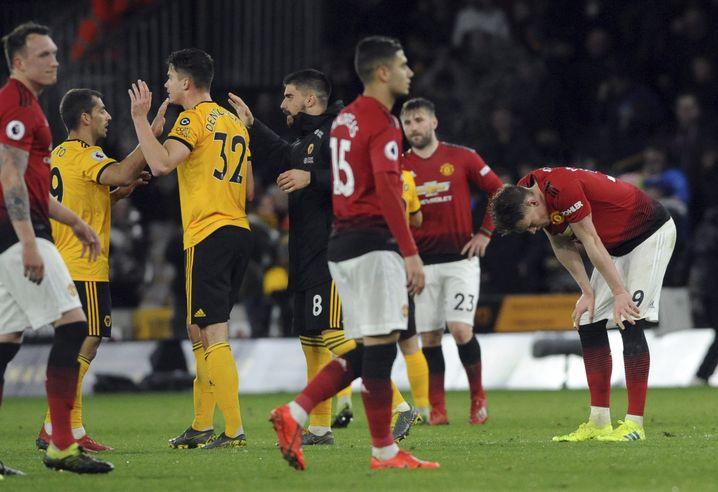 Frust bei Manchester United