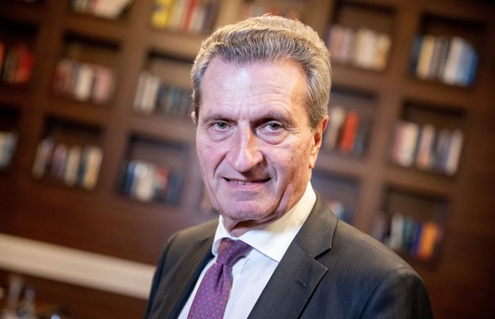 Günther Oettinger: Mächtige Unterstützer in der Autoindustrie