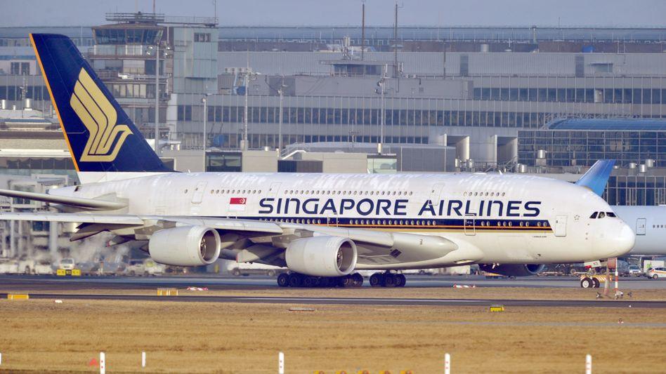 """A380 von Singapore Airlines: """"überwältigende Nachfrage"""""""