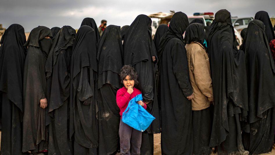IS-Frauen (Symbolbild)