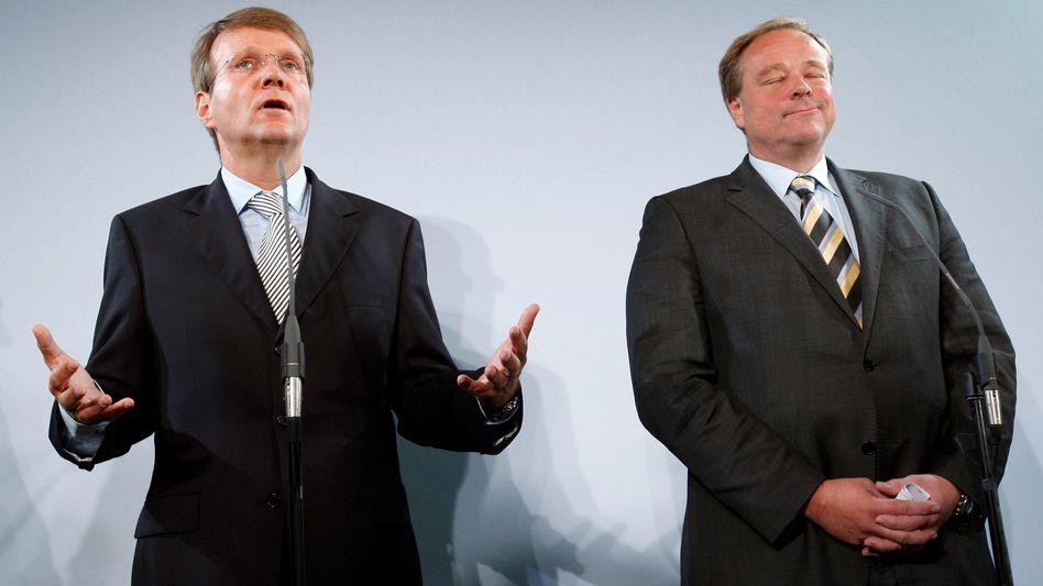 """Liberaler Minister Dirk Niebel: """"Weil die FDP nicht mitregierte, hat es 2006 nicht geklappt"""""""